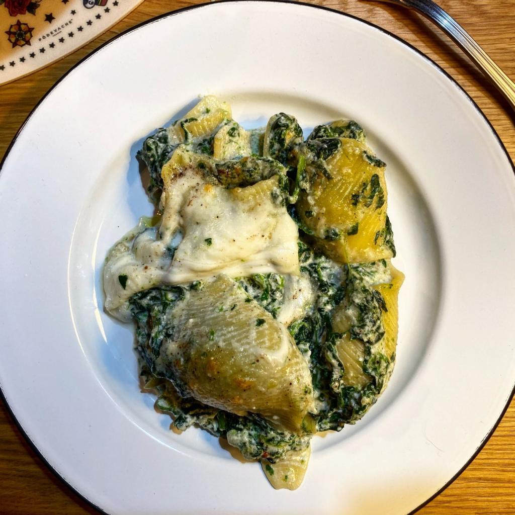 pasta forno ricotta spinaci ricetta