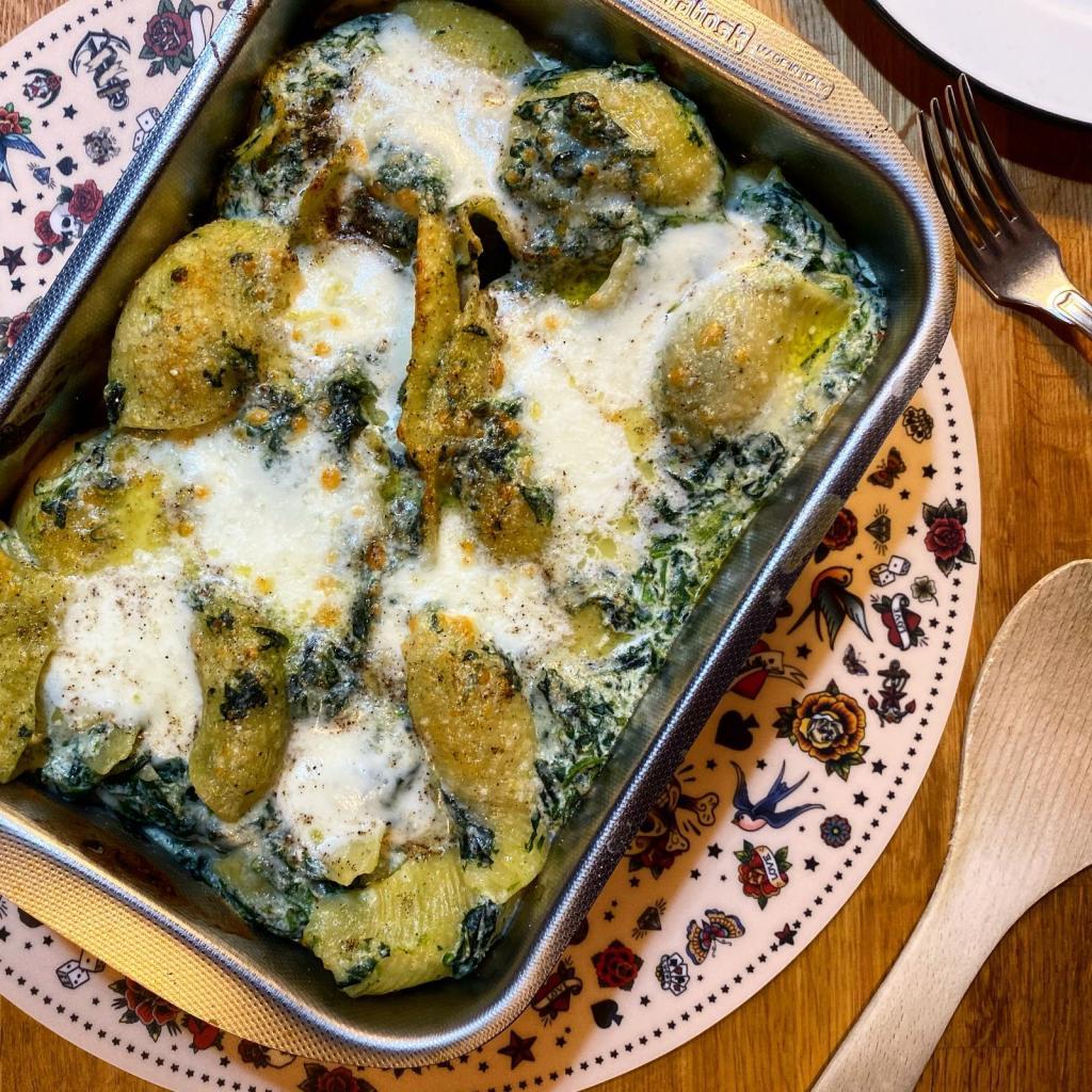 pasta forno ricotta spinaci teglia ricetta