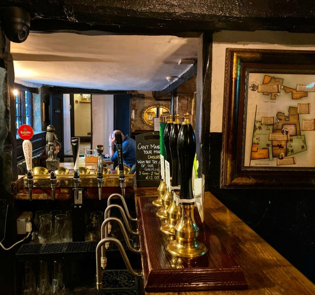 ye olde trip jerusalem nottingham pub