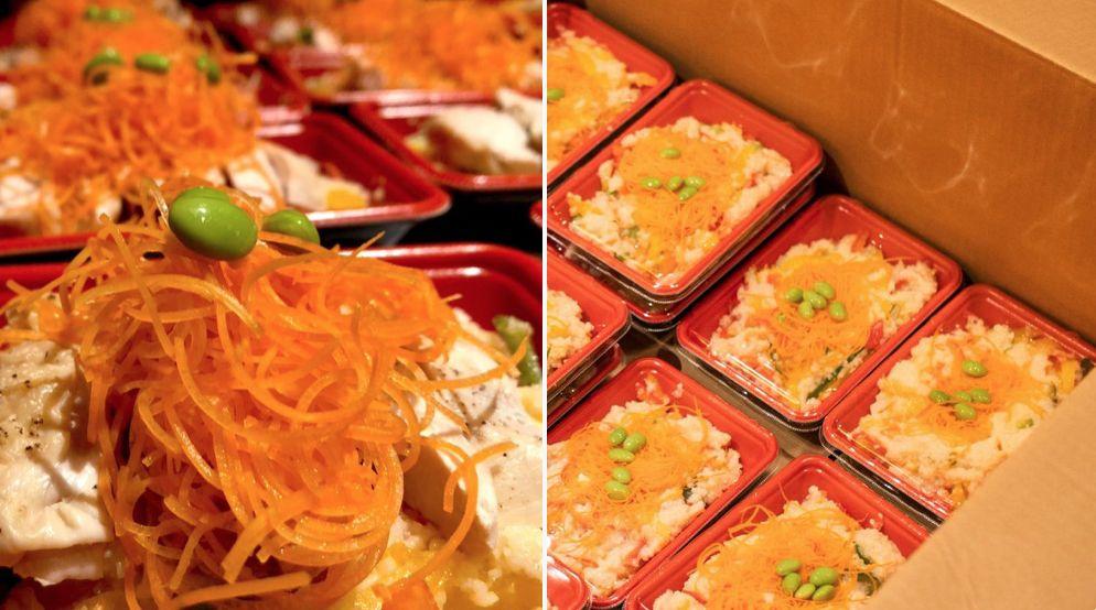 riso carote quarantena
