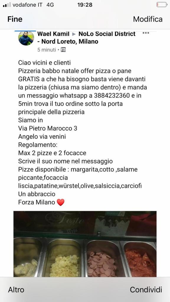 pizzeria regala pizze milano