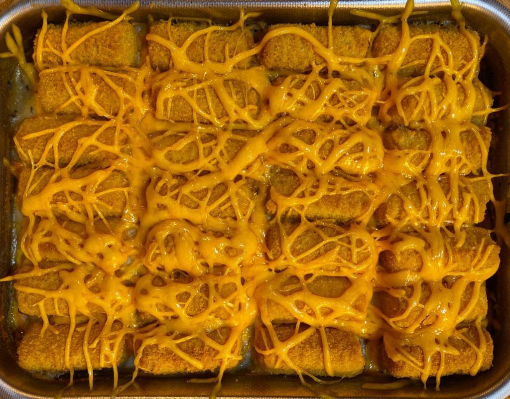 hot dish formaggio crocchette
