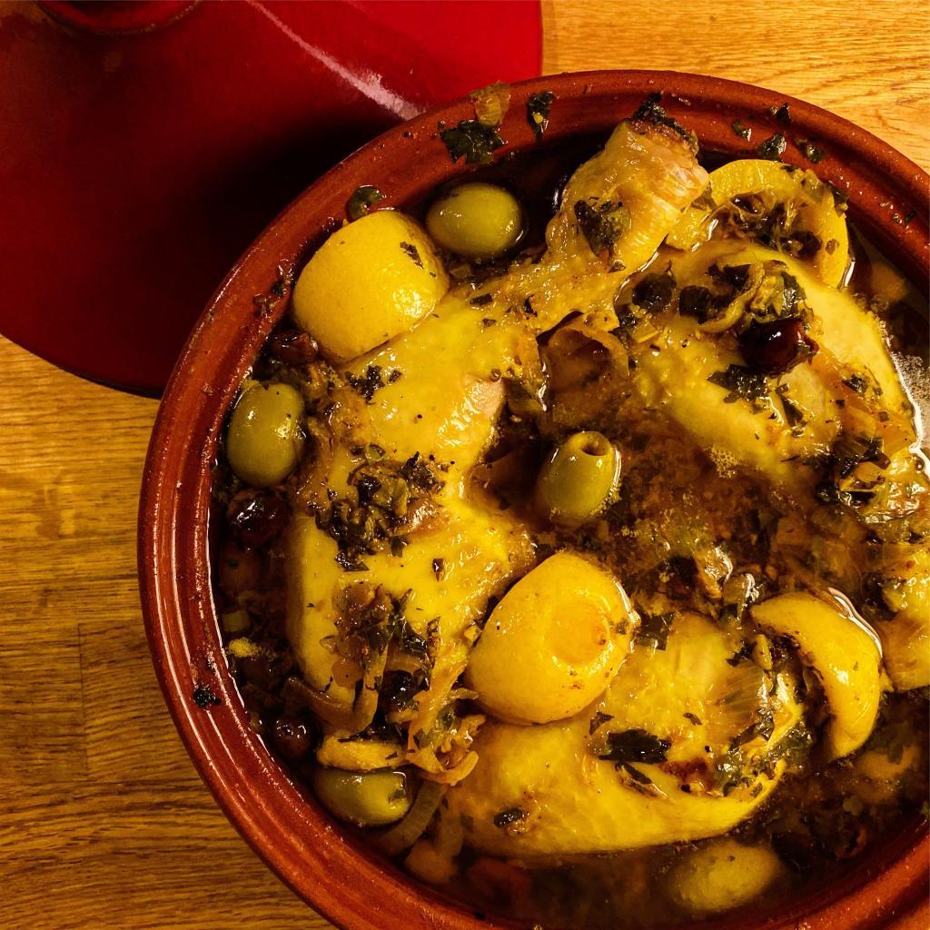 tagine pollo limoni olive ricetta