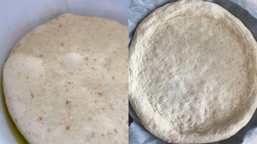pizza cinica panetto stesa ricetta