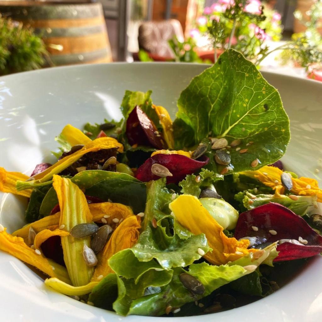 fondo ristorante insalata