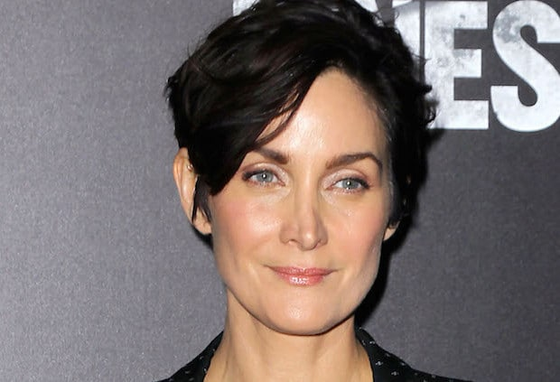 Mandatory Credit: Photo by Patrick Lewis/StarPix/REX/Shutterstock (5625408b) Carrie-Anne Moss 'Jessica Jones' TV series premiere, New York, America - 17 Nov 2015 NYC Premiere of Netflix New Original Series MARVEL'S Jessica Jones