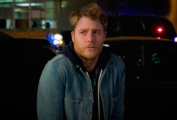 """""""Finale: Part Two!!"""" -- Following a stunning betrayal to their team, Brian and the FBI race to stop an NZT-enabled Sands (Colin Salmon) and his associates from orchestrating an international incident. Also, Brian experiences devastating side effects when his NZT immunity starts to wear off, on the first season finale of LIMITLESS, Tuesday, April 26 (10:00-11:00 PM, ET/PT) on the CBS Television Network. Pictured  Jake McDorman as Brian Finch  Photo: David M. Russell/CBS ©2016 CBS Broadcasting, Inc. All Rights Reserved"""