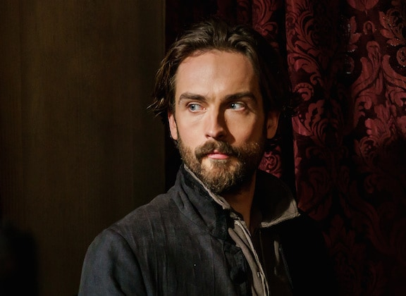 "SLEEPY HOLLOW: Tom Mison in the ""Incident At Stone Manor"" episode of SLEEPY HOLLOW airing Friday, Feb. 12 (8:00-9:00 PM ET/PT) on FOX. ©2016 Fox Broadcasting Co. Cr: Tina Rowden/FOX."