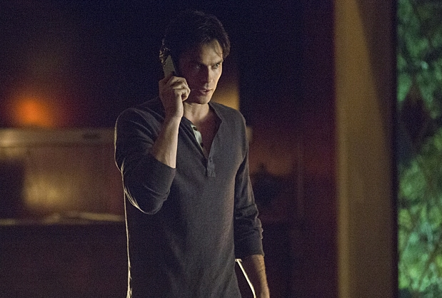"""The Vampire Diaries -- """"Requiem for a Dream"""" -- Image Number: VD721b_0039.jpg -- Pictured: Ian Somerhalder as Damon -- Photo: Bob Mahoney/The CW -- © 2016 The CW Network, LLC. All rights reserved."""