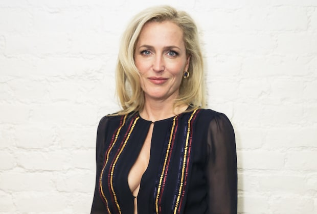 Mandatory Credit: Photo by Charles Roussel/BFA/REX/Shutterstock (5648353s) Gillian Anderson Gabriela Hearst Dinner in Celebration of Gillian Anderson, New York, America - 18 Apr 2016