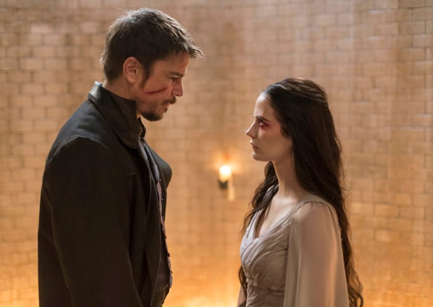 Josh Hartnett as Ethan and Eva Green as Vanessa Ives in Penny Dreadful (season 3, episode 9). - Photo: Patrick Redmond/SHOWTIME - Photo ID: PennyDreadful_309_1579