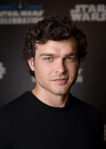 LONDON, ENGLAND - JULY 17: Alden Ehrenreich, who will play Han Solo, attends the Star Wars Celebration 2016 at ExCel on July 17, 2016 in London, England. (Photo by Ben A. Pruchnie/Getty Images for Walt Disney Studios)