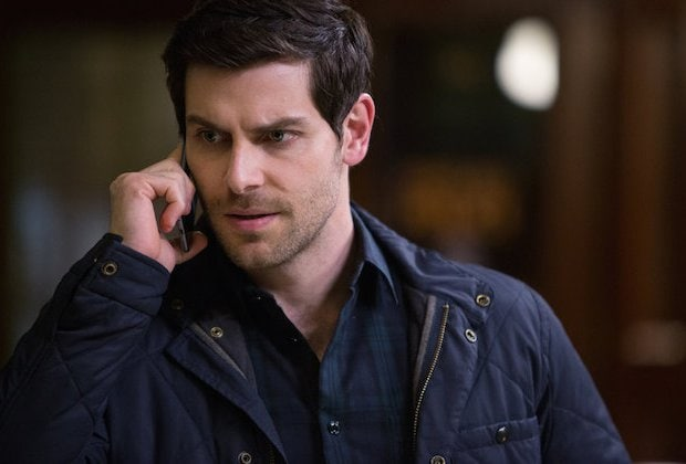 "GRIMM -- ""The Taming of the Wu"" Episode 519 -- Pictured: David Giuntoli as Nick Burkhardt -- (Photo by: Scott Green/NBC)"