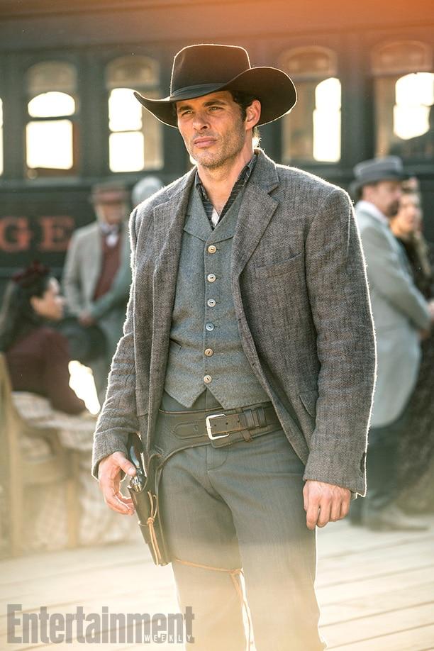 Westworld Season 1, Episode 1 Air Date 10/2/16 Pictured: James Marsden as Teddy