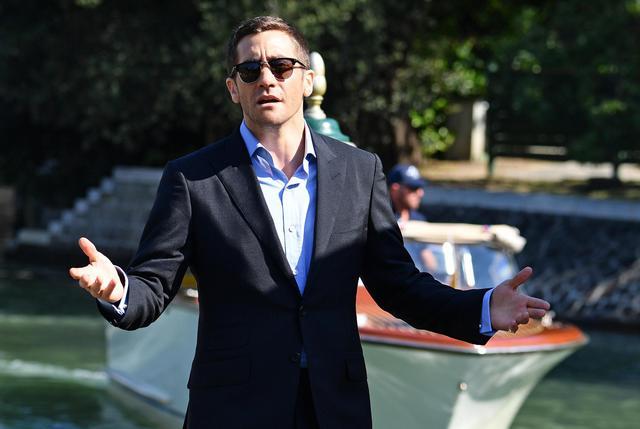 US actor Jake Gyllenhaal arrives at Lido Beach ahead of the 73rd annual Venice International Film Festival, in Venice, Italy, 02 September 2016. The festival runs from 31 August to 10 September. ANSA/ETTORE FERRARI