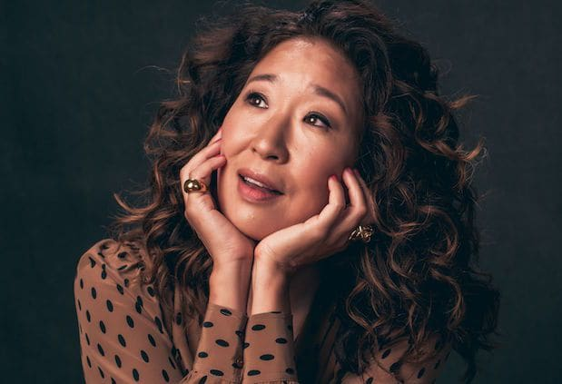 Mandatory Credit: Photo by Andrew H. Walker/Variety/REX/Shutterstock (5895246ep) Sandra Oh of 'Catfight' Variety and Shutterstock Portrait Studio, Day 1, Toronto International Film Festival, Canada - 09 Sep 2016