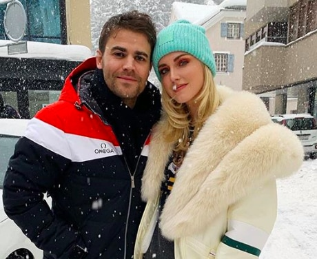 The Vampire Diaries Paul Wesley Chiara Ferragni