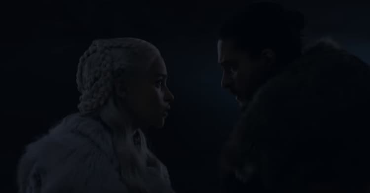 Game of Thrones 8x03 Jon e Daenerys