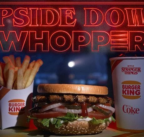 Stranger Things Burger King