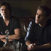 The Vampire Diaries Ian Somerhalder Paul Wesley