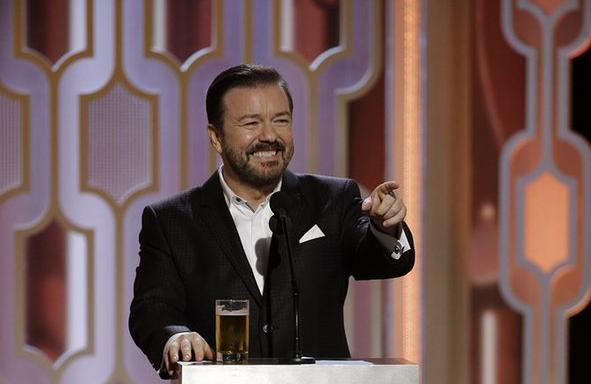 Golden Globe 2020 Ricky Gervais