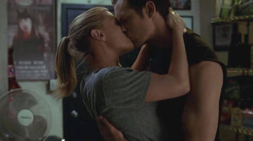 Eric e Sookie bacio True Blood