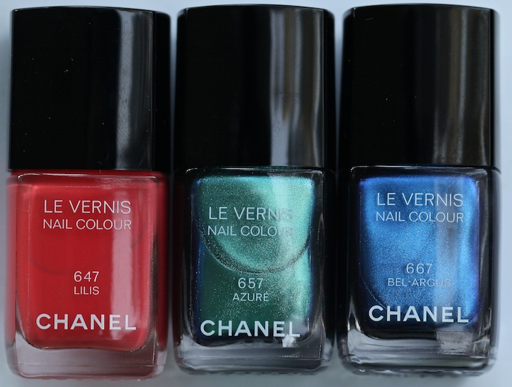 chanel summer nail color review