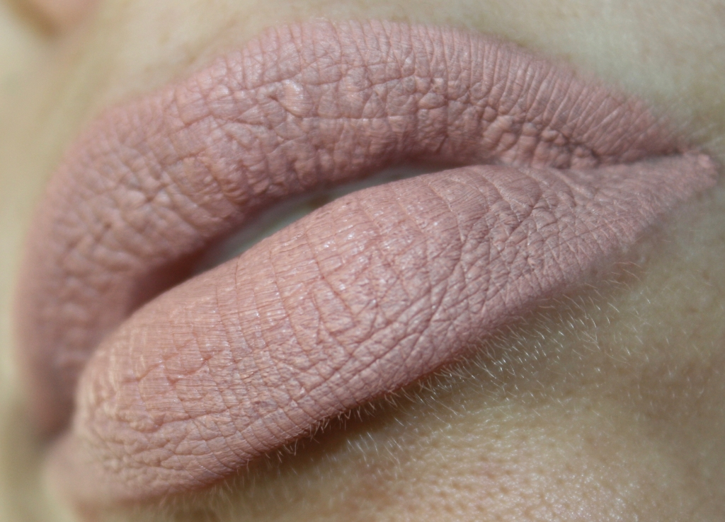 NYX Lip Lingerie Lace Detail swatches