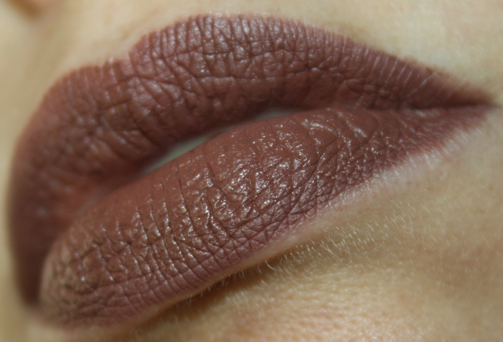 NYX Lip Lingerie Beauty Mark swatches
