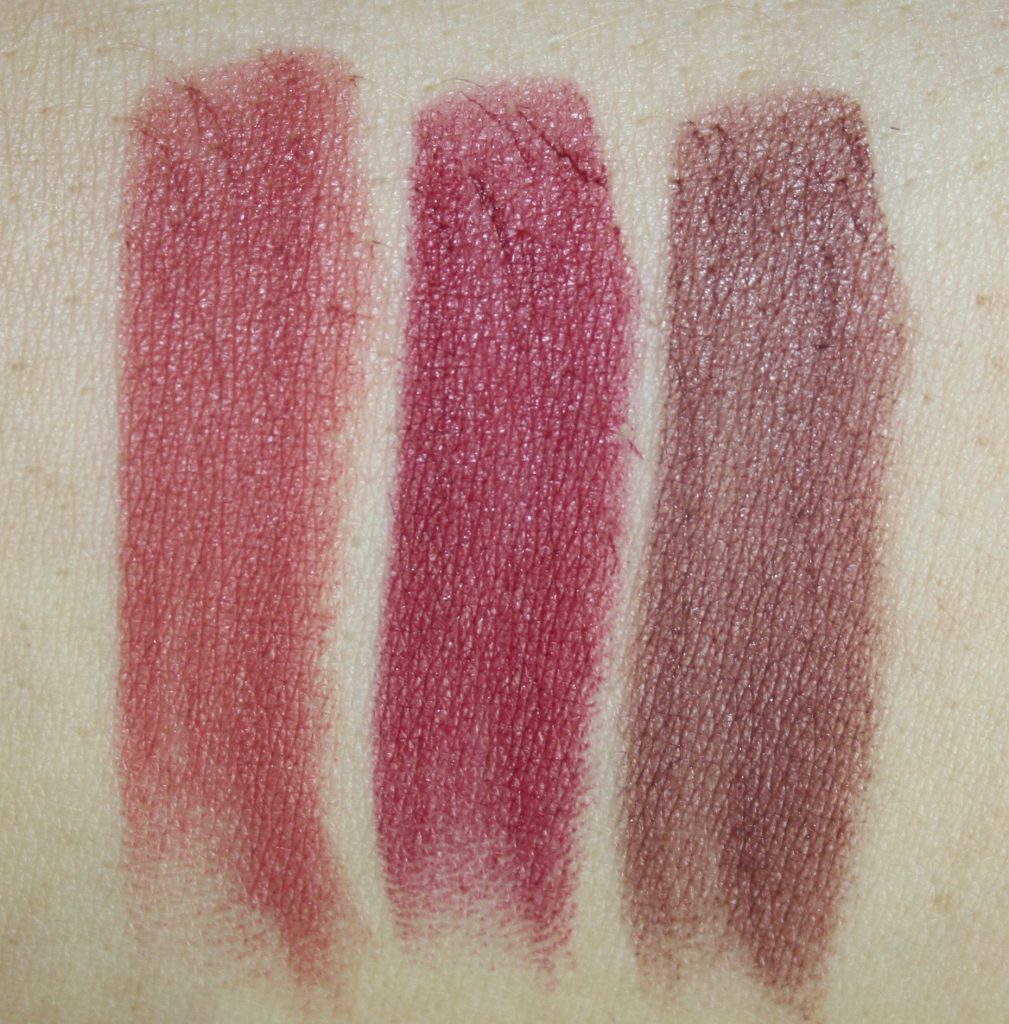 Kiko Velvet Passion swatches