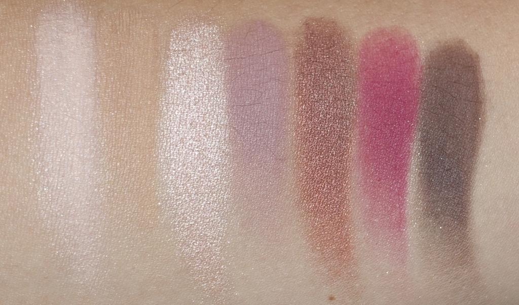 Modern Renaissance Eyeshadow Palette Swatches