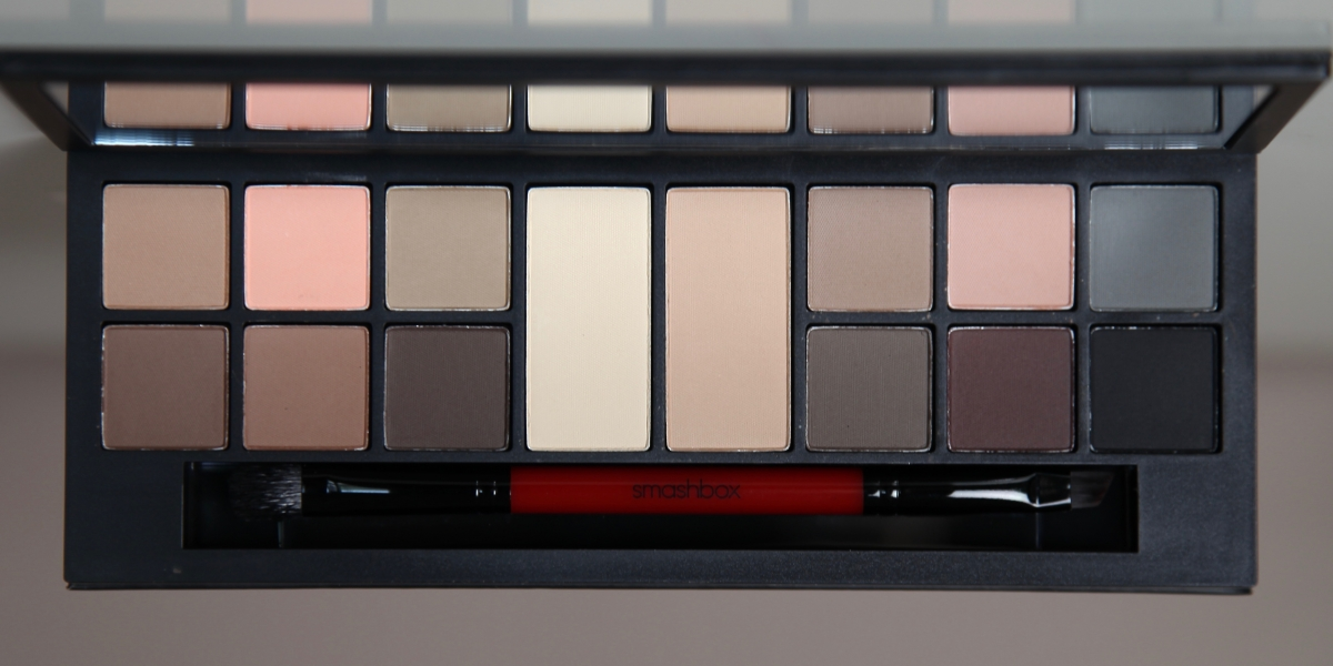 Smashbox Photo Matte Eyes Palette Review Swatches Application