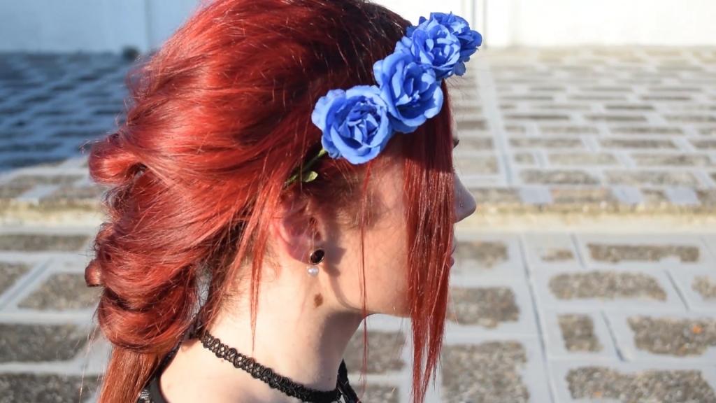 hairstyle romantic