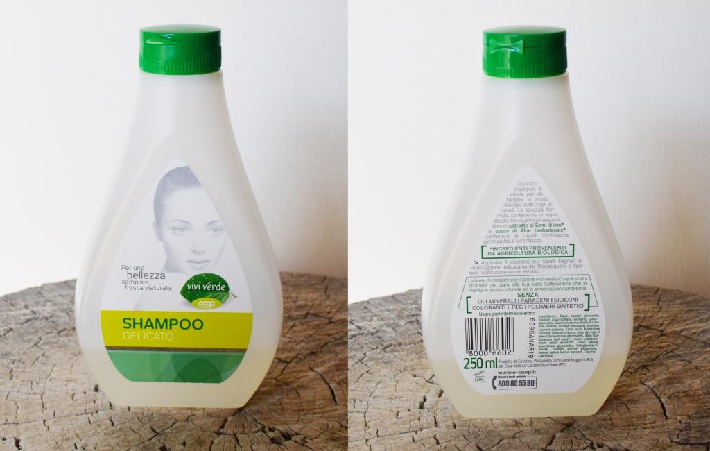 shampoo vivi verde coop capelli