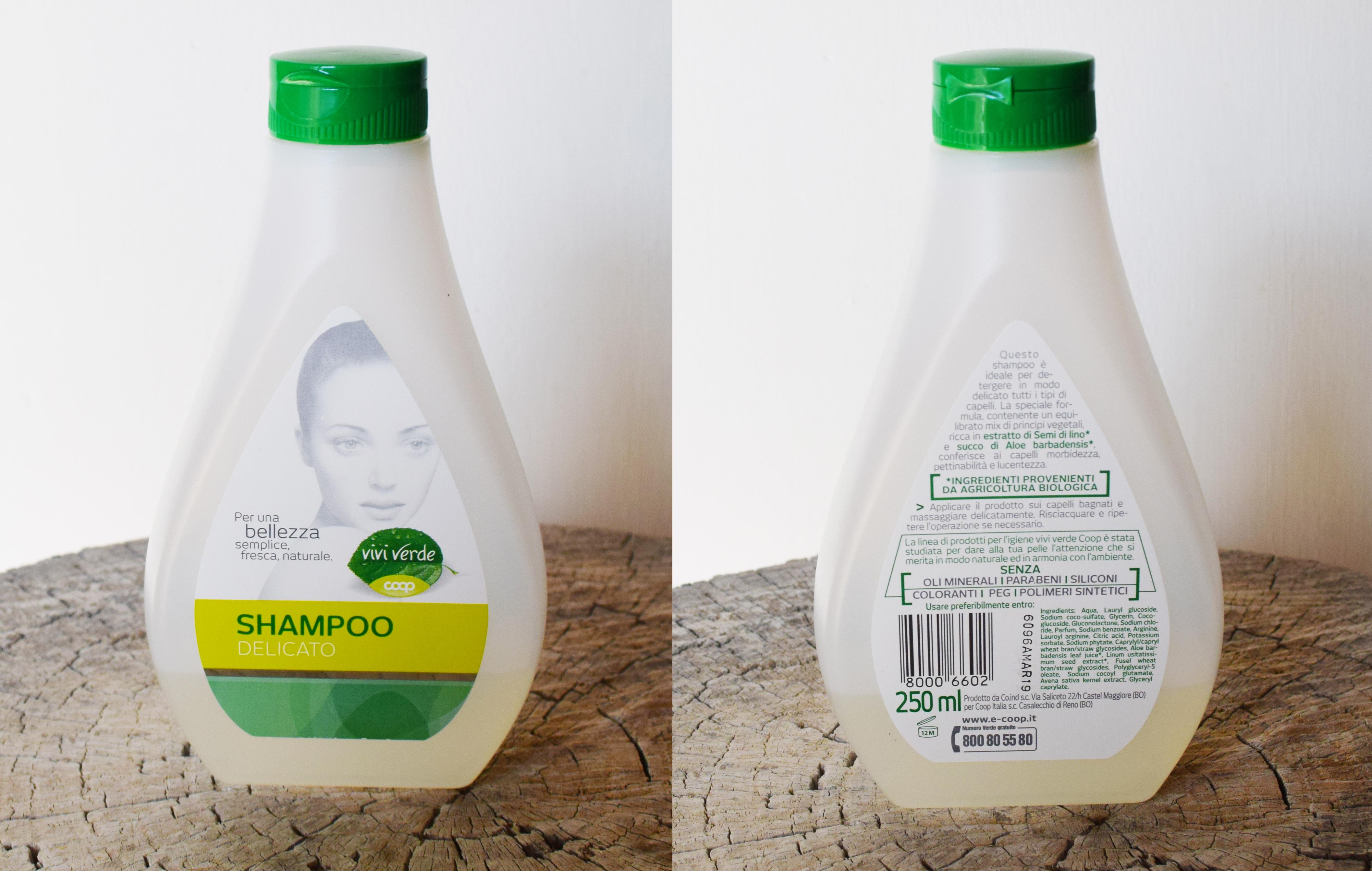 shampoo vivi verde coop