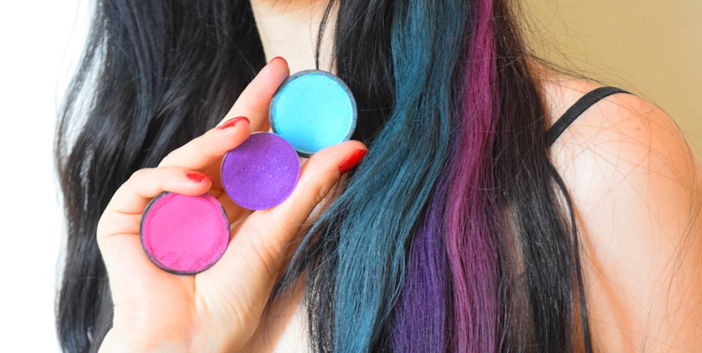 hair color eyeshadow
