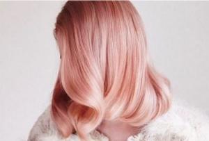 rose gold tendenze capelli 2017
