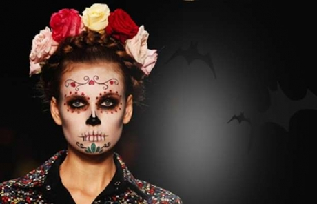 acconciature-halloween-capelli-raccolti-con-corona-di-fiori