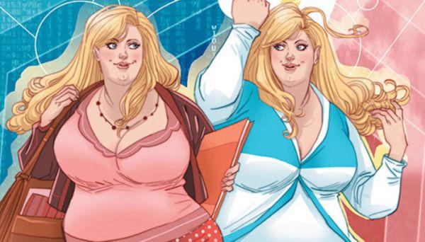 Faith: il primo fumetto su una supereroina curvy