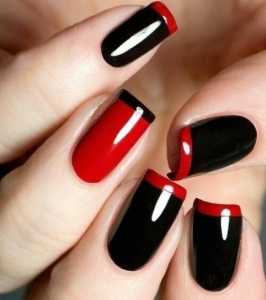 french-manicure-rossa