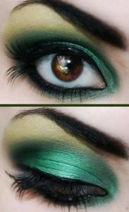 make-up-verde