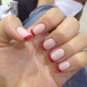 manicure-rosa-e-rosso