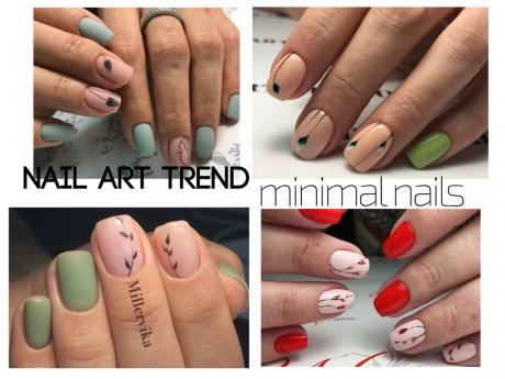 nail art trend minimal