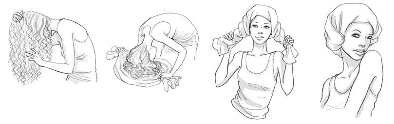capelli ricci plopping