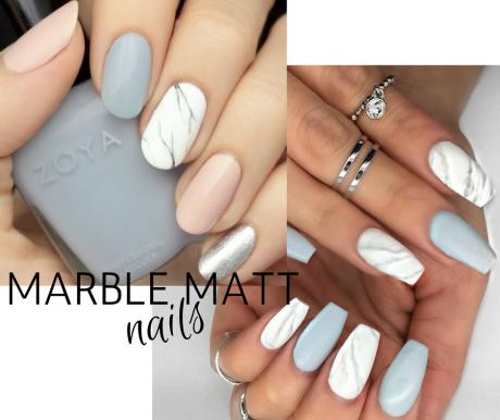marble matt unghie