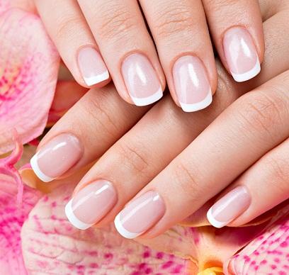 French,manicure,classica \u2026