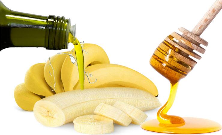 maschera capelli banana