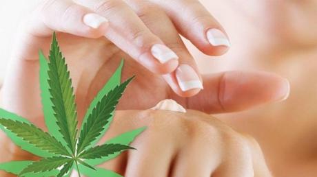 prodotti di bellezza alla Marijuana
