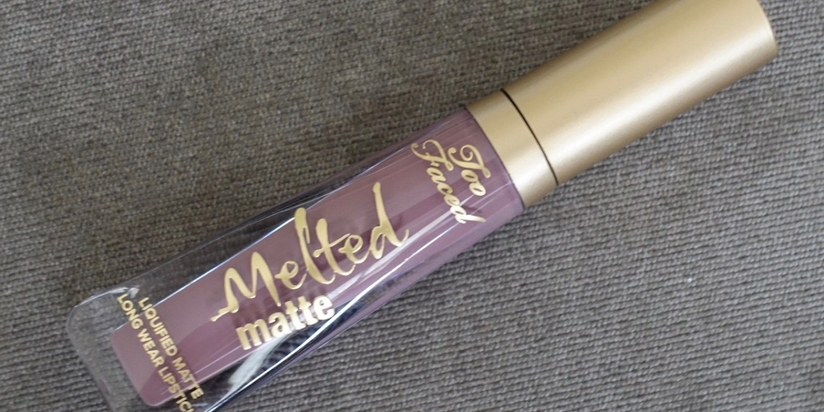 too faced melted matte Granny pants