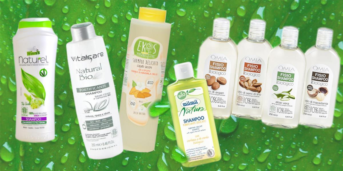 shampoo da supermercato con buon inci